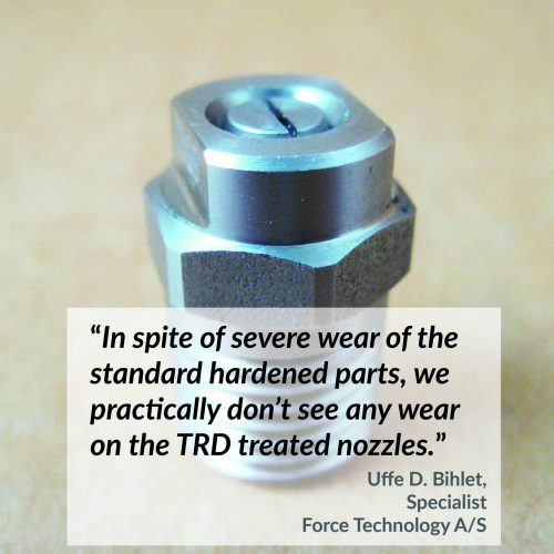 TRD for nozzles